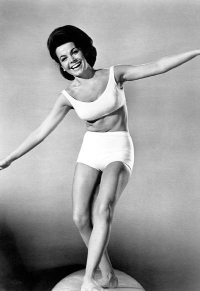 Annette Funicello'nun 1963'de çekilen Beach Party filminde giydiği bikini.