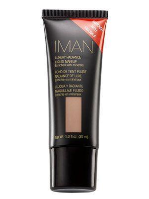 Iman Luxury Radiance Liquid Makeup in Clay 3