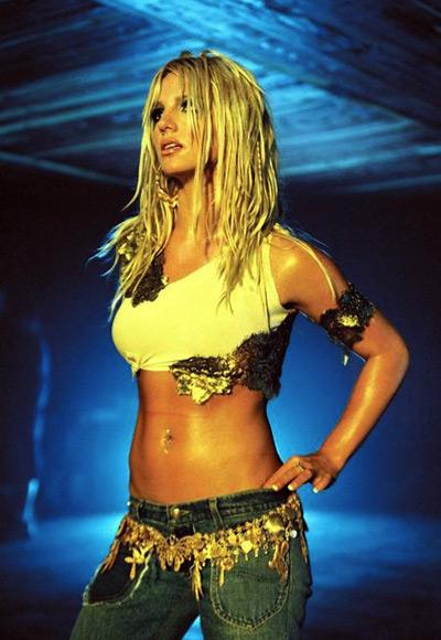 "Britney Spears in ""I'm a Slave 4 U"", 2001"