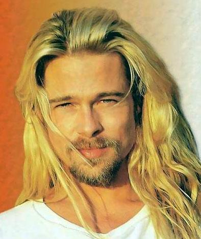 Hollywood'un en çok imaj tazeleyen ünlülerinden biri Brad Pitt..