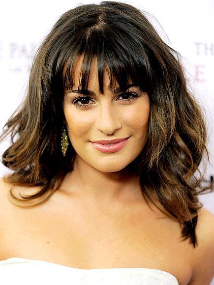 Glee yıldızı Lea Michele rengarenk fakat yine de zarif olmayı her zaman başarıyor.