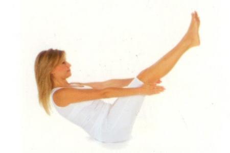 Oturarak Yapılan Yoga Hareketleri - 12