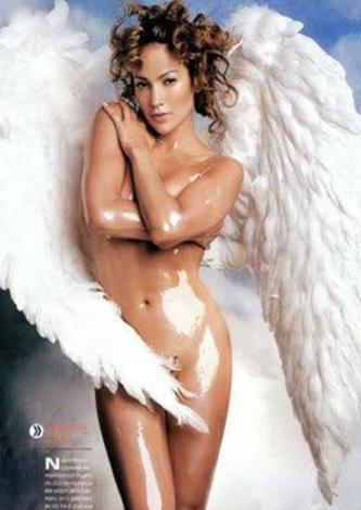 Jennifer Lopez'in yıllar önce verdiği bu pozdan.
