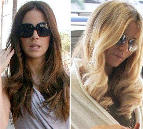 37 yaşındaki Kate Beckinsale Los Angeles'taki LAX hava limanından ayrılırken yeni imajıyla kameralara yakalandı.
