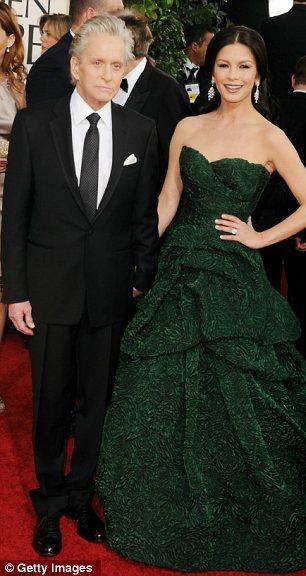 Michael Douglas ve Cathrine Zeta Jones