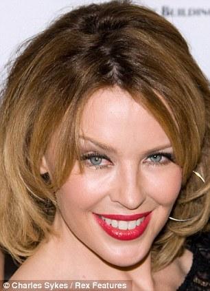 Kylie Minogue 2009 yılı botoks öncesi