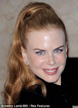 Nicole Kidman 2009 yılında çekilmiş bir fotoğraf