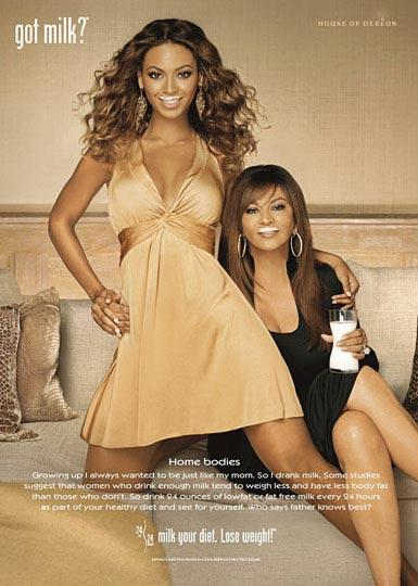 Beyonce ve Tina Knowles
