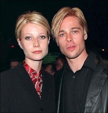 Gwyneth Paltrow ile nişanlıyken çocuksu saçları vardı.