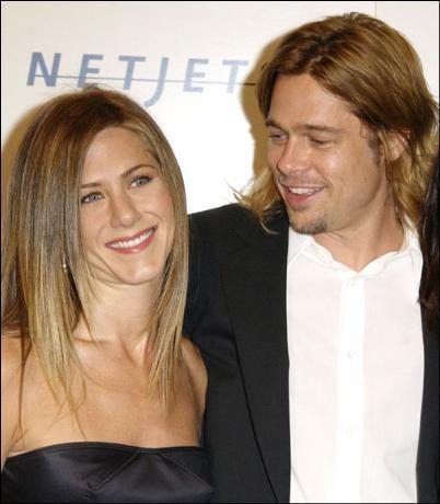 Ünlü aktörün Jennifer Aniston ile evliliğindeki saç modeli
