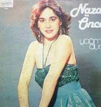 Nazan Öncel'in ilk albümünün kapağındaki görüntüsü..