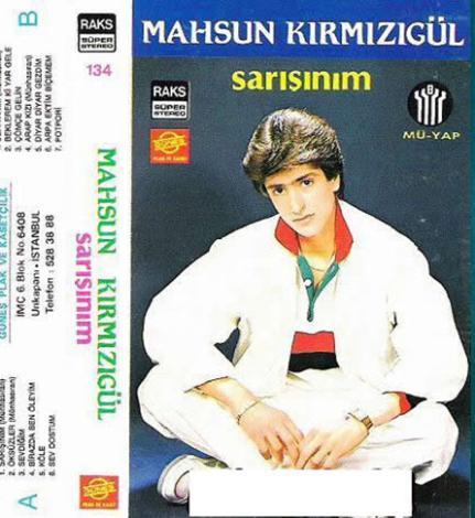 Bugünün sinemacısı Mahsun Kırmızıgül de bir zamanlar kaset çıkaran ünlülerdendi.