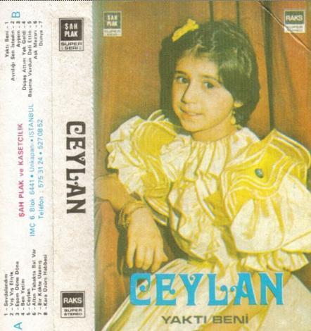 Ceylan'ın çocukken çıkardığı kasetlerden biri..