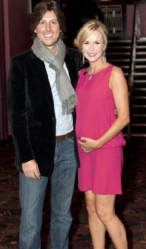 Amanda Holden, eşi Chris Hughes ile...