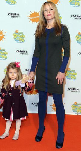 Amanda'nın 4 yaşında Lexi adında bir kızı var.