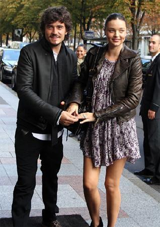 Miranda Kerr ve Orlando Bloom çiftinin Ocak ayının başlarında bir erkek çocukları oldu.  (Milliyet)