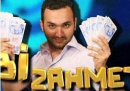 TRT'nin sokaktan geçene para kazandıran bir başka yarışması da Gökhan Yıkılkan'ın sunduğu Bir Zahmet'ti..   Kim Bilecek'ten farkı bilgiye dayalı bir yarışma olmamasıydı.
