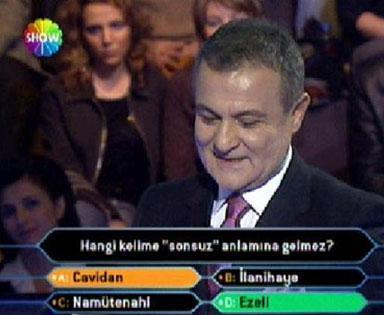 Milyoner Olmak İster adlı yabancı formatlı bu yarışma iki yıl öncenin ödül rekortmeni filmi Slumdog Millionaire'e de esin kaynağı olmuştu.