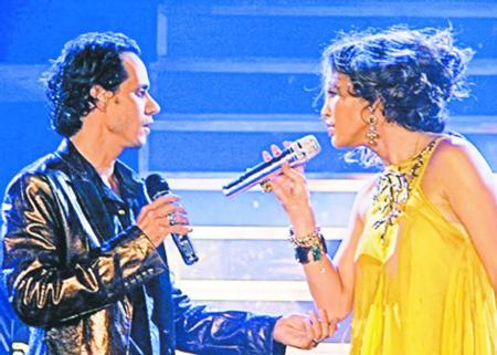 Marc Anthony ve Jennifer Lopez.