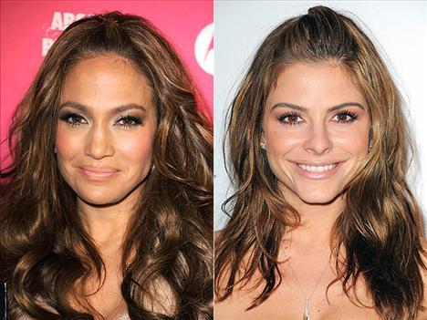 Yumuşak dalgalar Jennifer Lopez ve Maria Menounos dalgalı saçlarıyla abatıdan uzaklar