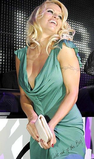 """Pamela Anderson  """"Bakla ağızdan çıktı"""""""