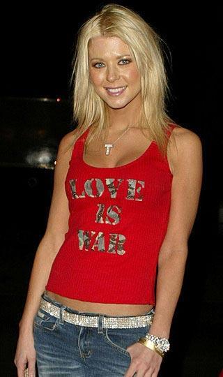 """Tara Reid  """"Aşk savaştır"""""""