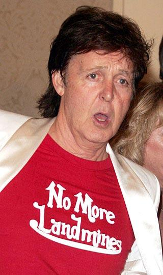 """Paul McCartney  """"Kara mayınlarına son"""""""