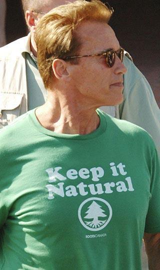 """Arnold Schwarzenegger  """"Doğal halini koru"""""""