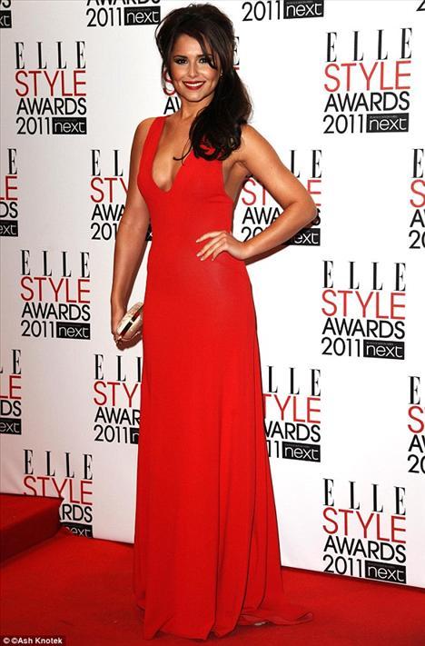 Cheryl Cole gecede stil İkonu ilan edildi.