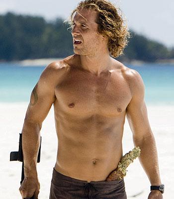 Karın – Karın şekli ve kaslarında Brad Pitt, Matthew McConaughey akla gelen ilk iki isim. Daha iddialıllar ise Arnold Schwarzenegger, Jean-Claude Van Damme ve David Beckham...