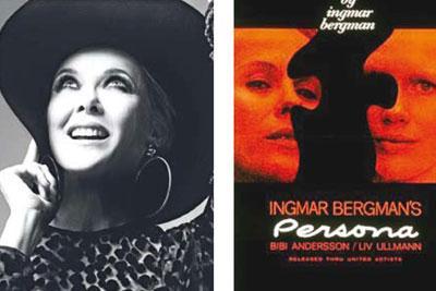 Ingmar Bergman'ın 1966 yapımı, 'Persona'nın Annette Bening'in üzerinde büyük bir etkisi olmuş.