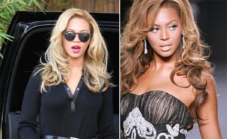 'çikolata renkli sanatçı', açık teniyle de dikkat çekti. Beyonce'nin yaşadığı bu değişim ABD magazin basını tarafından mercek altına alınırken, dermatoloji uzmanları Beyonce'un özel bir bakım kürüne girdiği konusunda hemfikir.   Beyonce üç yıl önce yer aldığı L'Oreal reklamlarında da cildinin rengini açtırdığı gerekçesiyle hayli eleştiri almıştı.
