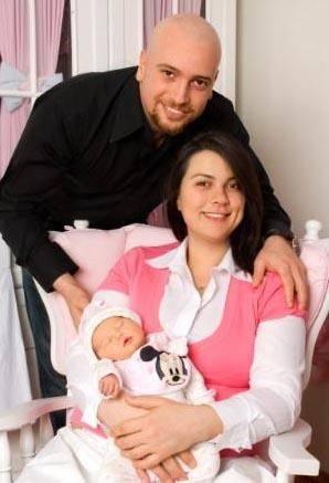Açelya Akkoyun - Enis Cergel çiftinin kızı Alya Deniz
