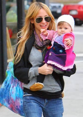 Nicole Richie ve kızı Harlow