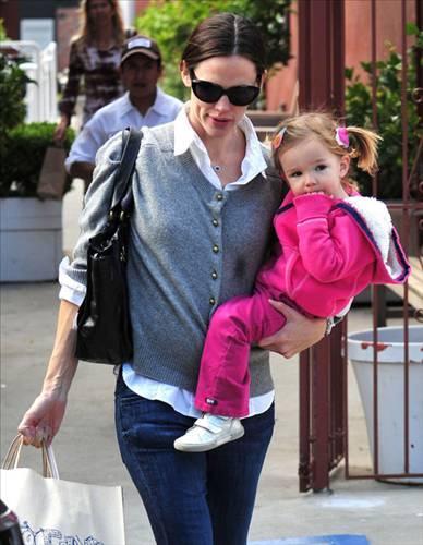 Jennifer Garner ve kızı