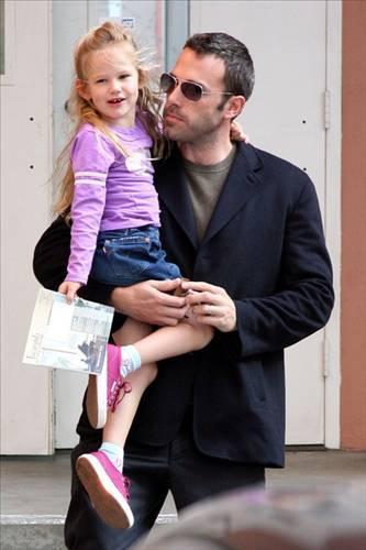 Ben Affleck ve kızı Violet