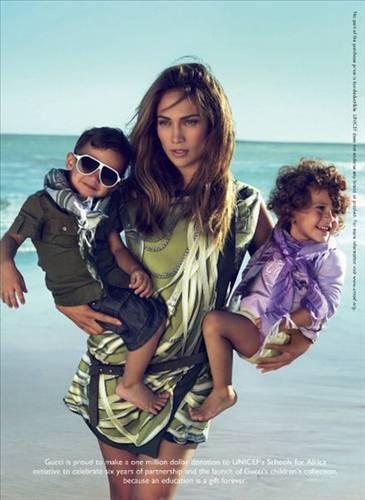 Jennifer Lopez ve ikizleri