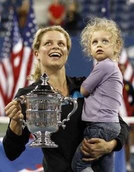 Kim Clijters ve kızı