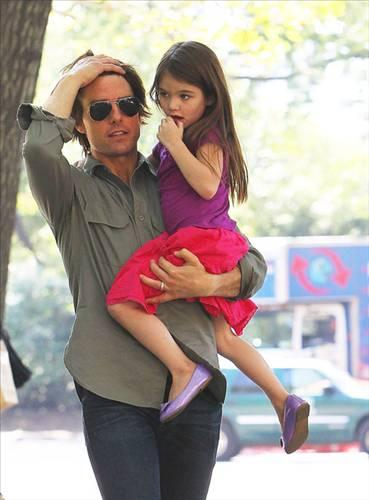 Tom Cruise ve kızı Suri