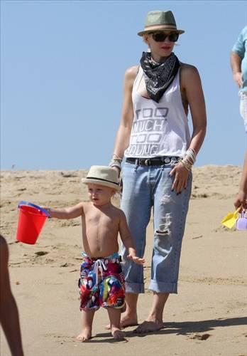 Gwen Stefani ve bebeği