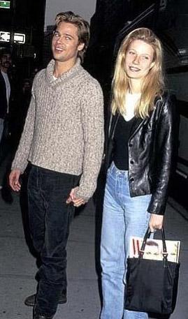 Ne zaman 'Seven' filminde Pitt'in rol arkadaşıyken sevgilisi oluverdi, Hollywood Paltrow'u yeni çağın 'Grace Kelly'si' ilan etti.