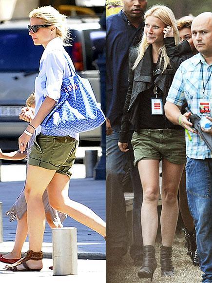 Gwyneth PAltrow'un şortu Bahar aylarında şortlar çok kullanışlı olabiliyor. Özellikle de Gwynet'inki gibi keten olanlar. Bunları üzerine bir gömlek ya da ceketle işe giderken de giyebilirsiniz. Ya da üzerinize bir tişört geçirip konsere de gidebilirsiniz