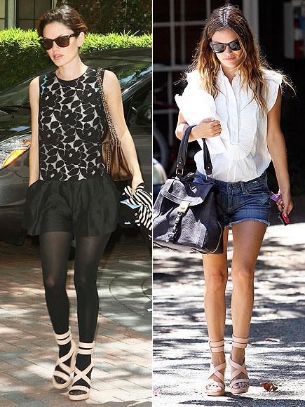 Rachel Bilson'un sandaletleri Güzel oyuncu Rachel Bilson sportif şıklığı seven kadınlar için bir ders kitabı gibi. Ayağındaki Rag&Bone sandaletlerini iki ayrı görünümle nasıl da kombinlediğine bakın…