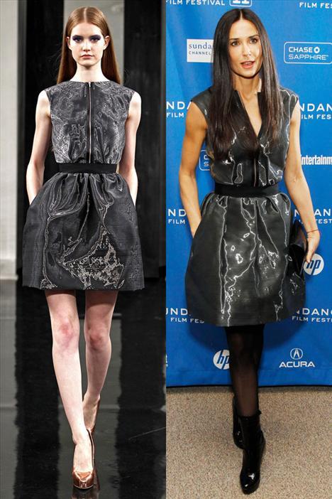 Demi Moore - Victoria Beckham