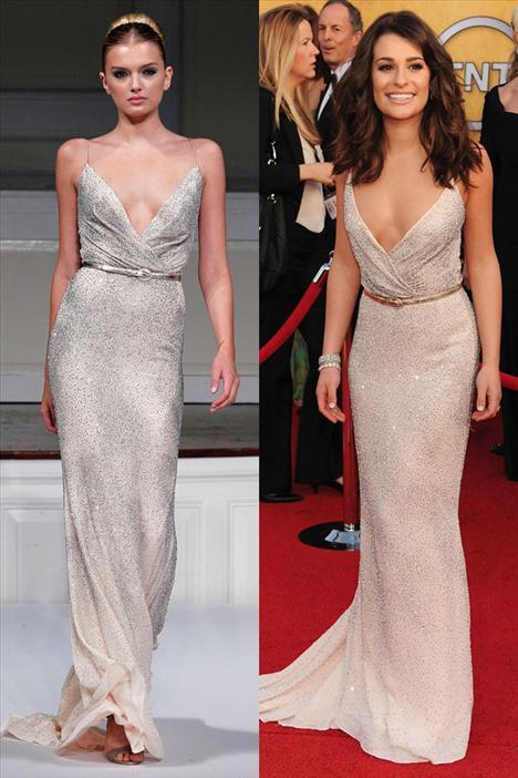 Lea Michele - Oscar de la Renta
