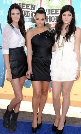 Kendall ve Kylie Jenner, sık sık ablalarıyla birlikte objektif karşısına geçtiler.