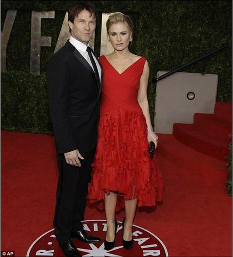 Stephen Moyer ve Anna Paquin