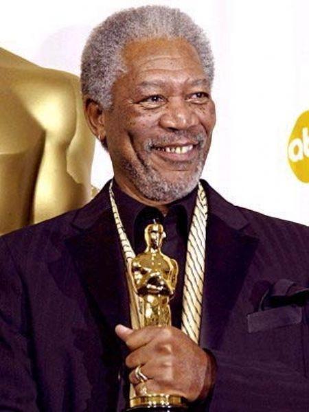 Morgan Freeman: 1.89 m