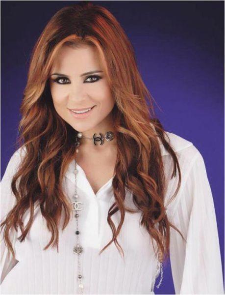 34. Carole Samaha, şarkıcı, Lübnan