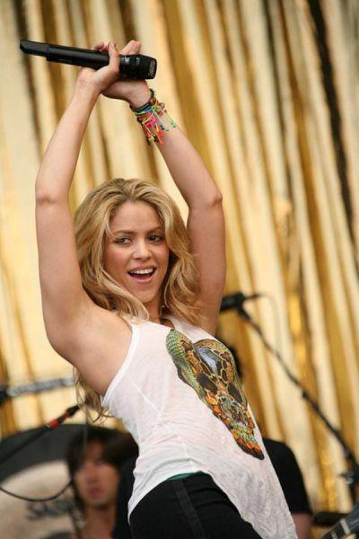 15. Shakira, Şarkıcı, Lübnan